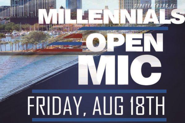 Push for 2,000 Votes; Millennials Open Mic Event Kicks off GOTV Effort