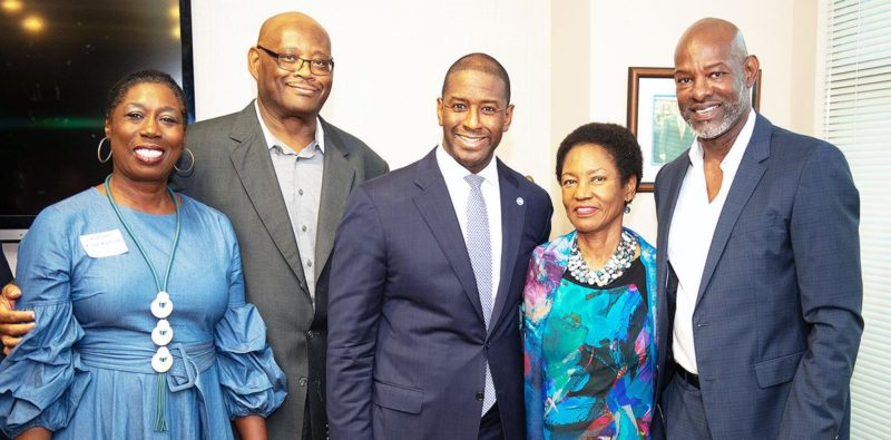 African Americans Giving Big to Elect Gillum; Pinellas Fundraisers Set