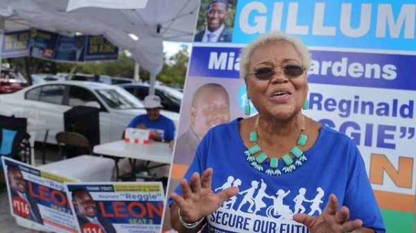 The Gillum effect? In Florida's largest black-majority city, a surge of early voters