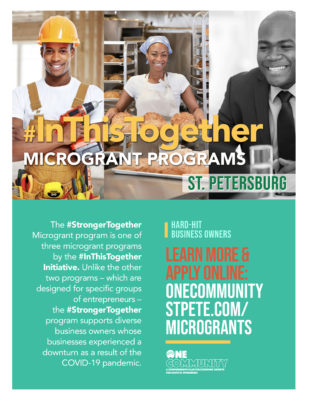 One Community Launches Second Microgrant Program for St. Petersburg Businesses