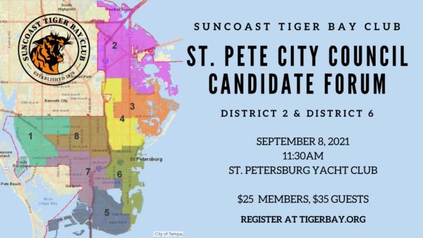 September 8: City Council D2 & D6 Candidate Forum Event